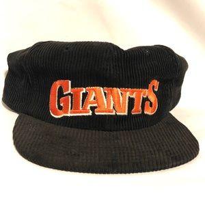 Vintage Corduroy Giants SnapBack